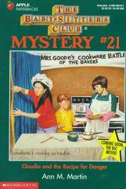 image of Claudia and the Recipe for Danger (Baby-sitters Club Mystery)