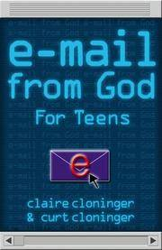 E-Mail from God for Teens Cloninger, Claire