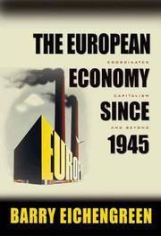 The European Economy Since 1945