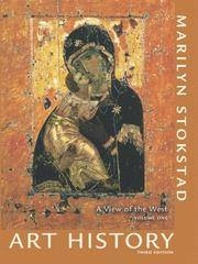 Art History: A View of the West, Volume 1 (3rd Edition) by Marilyn Stokstad - Paperback - 2007-02-08 - from Books Express and Biblio.com