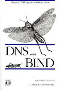 DNS and BIND in a Nutshell.