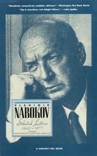 Vladimir Nabokov  Selected Letters 1940-1977