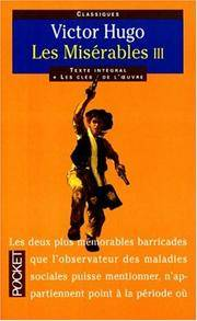 image of Les Miserables : Tome 3