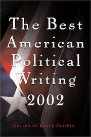 The Best American Political Writing, 2002