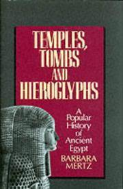 image of Temples, Tombs and Hieroglyphs: A Popular History of Ancient Egypt