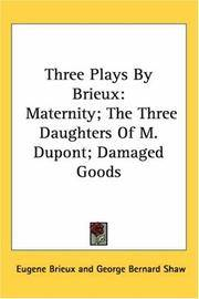 Three Plays By Brieux