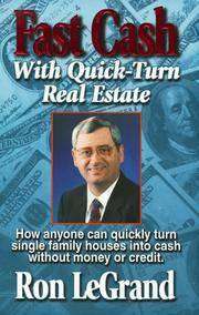 image of Fast Cash With Quick-Turn Real Estate: How Anyone Can Quickly Turn Single Family Houses into Cash