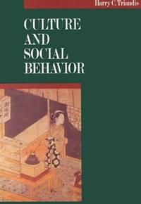 Culture and Social Behavior