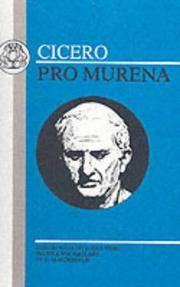 image of Cicero: Pro Murena (Latin Texts)