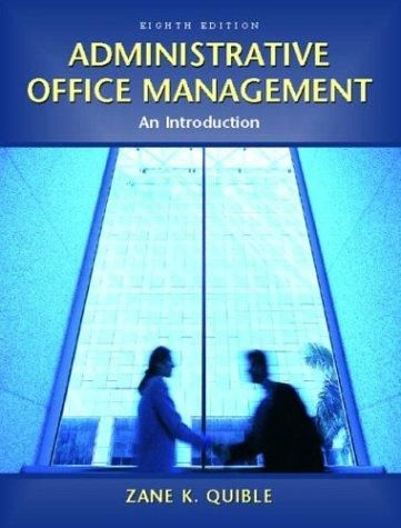 administrative office management chapter 1 To every administrative and clinical staff member who ever acknowledgments 1 chapter 1 today's healthcare environment 2 chapter 2 duties of the medical office manager 24 chapter 3 communications in the american association of healthcare administrative management, the health care adminis.
