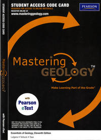 Masteringgeology With Pearson Etext - Standalone Access Card - For Earth Science
