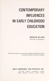 Contemporary influences in early childhood education (Early childhood education series)