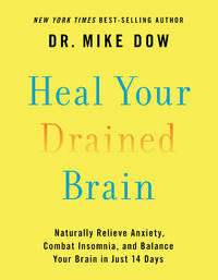 HEAL YOUR DRAINED BRAIN: Naturally Relieve Anxiety, Combat Insomnia & Balance Your Brain In Just 14 Days (H)