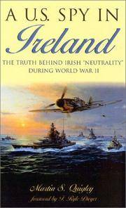 A U.S. Spy in Ireland by  Martin S Quigley - Paperback - from ShopBookShip and Biblio.com