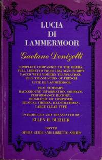 image of Lucia Di Lammermoor (Opera Guide_Libretto)