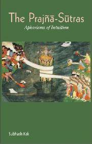 image of The Prajna-Sutras: Aphorisms of Intuition