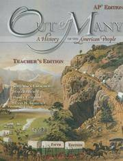 Out of Many: A History of the American People [Teacher's Edition With CDROM]