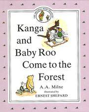 Kanga and Baby Roo Come to the Forest by A A Milne - Hardcover - from Browsers' Bookstore and Biblio.com