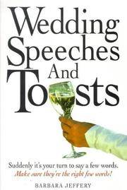 Wedding Speeches and Toasts (Know how)