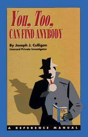 YOU, TOO, CAN FIND ANYBODY 1994 UPDATED EDITION