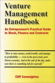 Venture Management Handbook An Entrepreneur's Practical Guide to Stock, Finance and Contracts