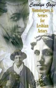 Monologues & Scenes for Lesbian Actors
