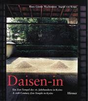Daisen-in a 16th Century Zen-Temple in KyoTo (German and English Edition)