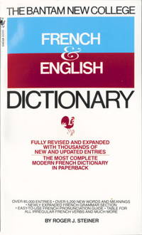 Bantam New College French and English Dictionary (Bantam New College Dictionary Series)