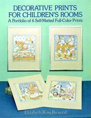 Decorative Prints for Children's Rooms  A Portfolio of 6 Self-Matted  Full-Color Prints