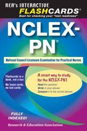 NCLEX-PN Flashcard Book (Nursing Test Prep) by Rebekah Warner - Paperback - 1 - 2007-07-10 - from Bacobooks (SKU: K-724-672)