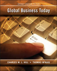 image of Global Business Today [Paperback] by Charles W. L. Hill