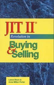 JIT II Revolution in Buying & Selling