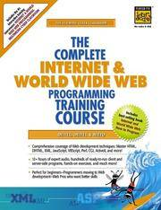 Complete Internet and World Wide Web: Programming Training Course