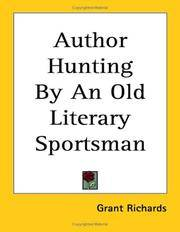 Author Hunting by an Old Literary Sportsman