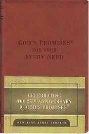God's Promises for Your Every Need: 25th Anniversary, Deluxe Leather