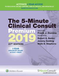 THE 5 MINUTE CLINICAL CONSULT PREMIUM 2019 27ED (HB 2019)