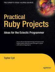 Practical Ruby Projects Ideas For The Eclectic Programmer