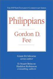 Philippians (IVP New Testament Commentary Series)