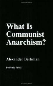 What Is Communist Anarchism?