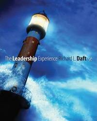 The Leadership Experience (Available Titles CengageNOW) by  Richard L Daft - Paperback - 5 - from BooksRun (SKU: 143904211X-7-1-13)