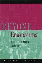 Beyond Engineering; How Society Shapes Technology