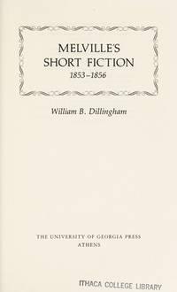 Melville's Short Fiction: 1853-1856