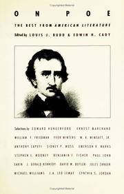 "On Poe: The Best from ""American Literature"" (Best in American literature): The Best..."