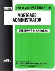 Mortgage Administrator, C-2311