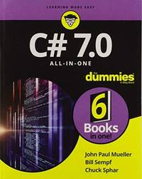 C# 7.0 All-in-One For Dummies (For Dummies (Computer/tech))