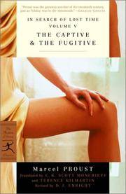 image of The Captive & The Fugitive: In Search of Lost Time, Vol. V (Modern Library Classics) (v. 5)