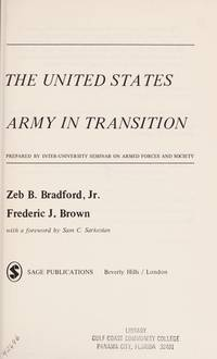U S Army in Transition