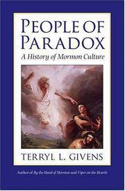 image of People of Paradox : A History of Mormon Culture