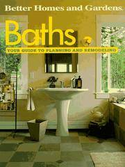 Baths: Your Guide to Planning and Remodeling (Better Homes and Gardens) by Better Homes and Gardens Books~Benjamin W. Allen - Paperback - from Wonder Book (SKU: N25C-02142)