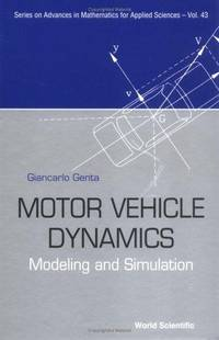 9789810229115 - Motor Vehicle Dynamics: Modeling and Simulation